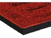 Plaque antivibratoire amortisseur 20 kg/ cm² - Charge maxi. dynamique : 20 kg/ cm² - Dimensions (mm) : 500 x 500