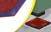 Plaque antivibratoire machine 125 kg/élément - Charge maximale (kg/élément) : de 125 à 12 500