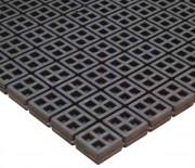 Plaque antivibratoire sécable - Dimensions : 450 x 450 mm - Épaisseur : 20 mm