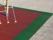 Plaque coin pour Aire de jeux - Norme EN 1176 / 100x100cm