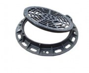 Plaque d'égout PMR à grille D400 - Classe : D 400 - PMR ou Standard