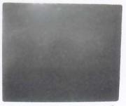 Plaque de cheminée en fonte lisse - Disponible en plusieurs dimensions