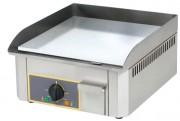 Plaque de cuisson chrome 400 x 400 mm - Surface de cuisson: 400 x 400 mm