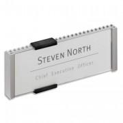 Plaque de porte personnalisable Infosign 149X105,5mm 480123 - Durable