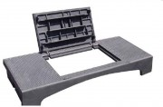 Plaque de recouvrement revêtement bitumineux C250 - Classe : C 250 - Dimension extérieure (mm) : 1500 x 600