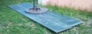 Plaque de répartition en aluminium alvéolaire - Charge maximale supportée : 100 T/m²