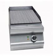 Plaque fry-top gaz avec à thermostat - Contrôle de la température par thermostat (120 ºC – 310 ºC)