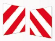 Plaque signalisation temporaire - Dimensions (cm) : 45 x 45