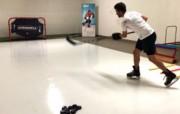 Plaques de glace synthétique pour patinage - Panneaux de glace synthétique avec languette et rainure