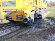 Plaques de roulage charge lourde - Capacité : 150 tonnes