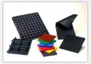 Plaques PLAKISOL à Fréquence propre de 50 - 6 Hz - Support antivibratoire de gamme 7