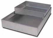 Plat de cuisson au four - Dimensions (L x l x h) : 55 x 35 x 12 cm