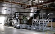 Plate forme d'accès roulante aéronautique - Plateforme de maintenance industrielle sur mesure
