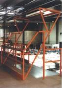 Plate forme de stockage palettes - Manutentions de palettes sur plate-forme