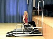 Plate forme élévatrice handicapé