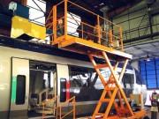 Plate-forme élévatrice pour ferroviaire