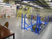 Plate forme métalique pour archives - Installations à 1 ou 2 planchers intermédiaires