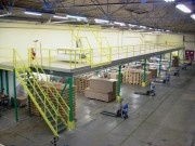 Plate forme mezzanine de stockage - Gagnez rapidement des m² sans construire