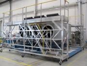 Plate forme mobile industrielle - Pour production unités électriques -  En aluminium