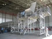 Plate forme roulante de maintenance - Pour avions civiles et militaires