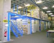 Plate forme stockage - Charges au mètre carré: de 250 à 750 kg