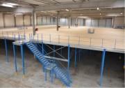 Plate-forme stockage sur-mesure - Charge : de 250 à 1000 Kg par m²