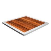 Plateau carré pour table - Dimensions (cm) : 70 x 70