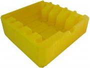 Plateau de calage rotomoulé plastique - En plastique rotomoulé - Dimensions : 1109 x 837mm