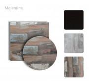 Plateau de table intérieur pour restaurant MELAMINE - Dimension su-mesure et décor au choix
