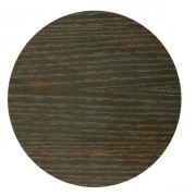 Plateau de table rond mélaminé wengé - Diamètre : de 60 à 140 cm