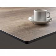 Plateau de table stratifié COMPACT HPL pour CHR - Nos plateaux de table sur mesure sont idéal pour les professionnelles : Cafés, Hotel, Restaurant, Bar. Epaisseur de 1cm.