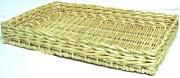 Plateau en osier pour boulangerie - Dimension disponible (L x l x H) cm : 50 x 50 x 07