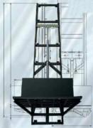 Plateau monte-charge industriel - Capacité de charge : 5000 kg