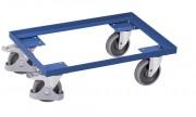 Plateau roulant modulaire porte-caisses - Capacité de charge : 250 kg