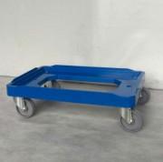 Plateau roulant pour bac 150 kg - Charge max. : 150 kg