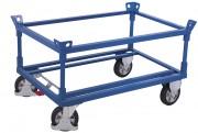 Plateau roulant pour caisse palette - Capacité de charge : 500 - 1200 kg