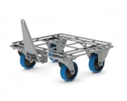 Plateau roulant tractable - Charge utile : 500 - 570 kg