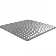 Plateau table de terrasse inox