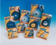 Plateaux pour disques fibre - Dimensions  : 115 x 22 - 127 x 22 - 180 x 22 mm