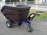 Plateaux pour transport de chariot - Accessoires pour transport de charges Helpful S électrique 3 roues