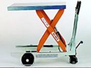 Plateforme de levage manuelle - Charge maximale : 80 tonnes   -  Hauteur de levage : 10 mètres
