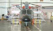 Plateforme de maintenance hélicoptère dauphin - Hélicoptère Dauphin