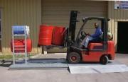 Plateforme de rétention acier galvanisé - Capacité de charge : 5000 kg