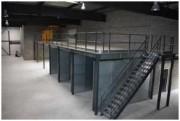 Plateforme de stockage mezzanine - Charges de 350 kg à 1T /m²