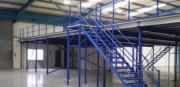 Plateforme de stockage mezzanine sur-mesure - Structure métallique