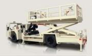 Plateforme de travail motorisée à capacité de charge élevée - Grand, solide ,sécurisée