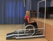 Plateforme électrique pour handicapé - Fonctionnement silencieux et sans à-coups