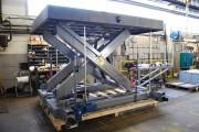 Plateforme elevatrice a ciseaux - Capacité de charge : 12 000 kg