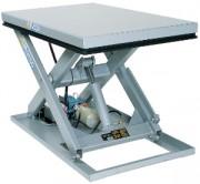 Plateforme élévatrice extra plate simple ciseaux - Table simple ciseau
