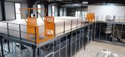 Plateforme métallique sur-mesure - Capacité de charge : 250kg à 1000kg au m²